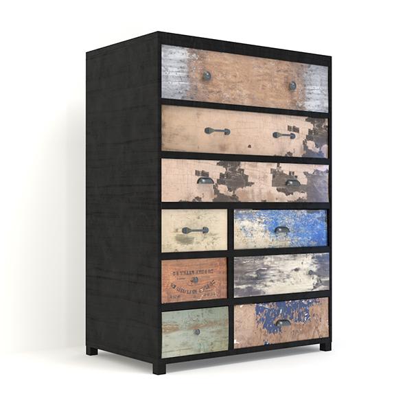 Retro Cupboard #4 - 3DOcean Item for Sale