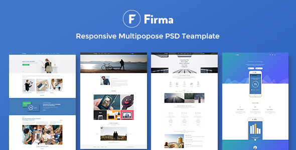 Firma - Multipurpose PSD Template