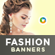HTML5 Fashion Banners - GWD - 7 Sizes(BEE-088)