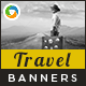 HTML5 Travel Banners - GWD - 7 Sizes(BEE-074)