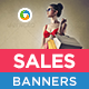 HTML5 Sale & Offer Banners - GWD - 7 Sizes(BEE-056)