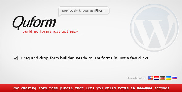 CodeCanyon Quform WordPress Form Builder 706149