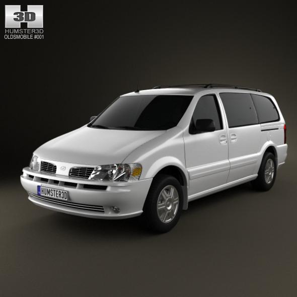 3DOcean Oldsmobile Silhouette 1997-2004 1598752