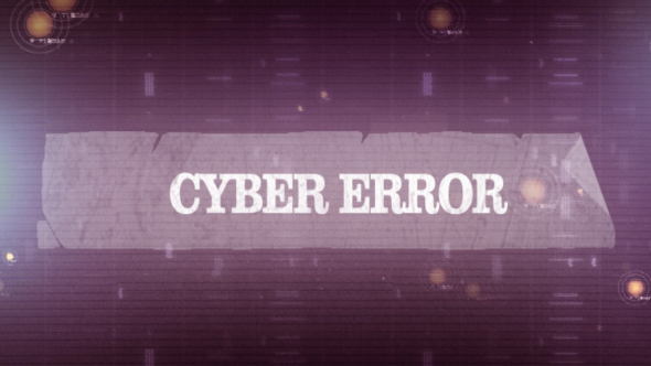 Cyber ​​Error Kiertävät Pack - Abstract Taustat Motion Graphics