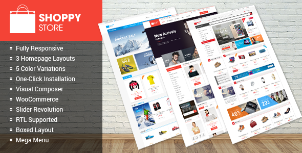 11 - ShoppyStore - WooCommerce WordPress Theme