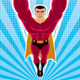 Superhero Flying - GraphicRiver Item for Sale