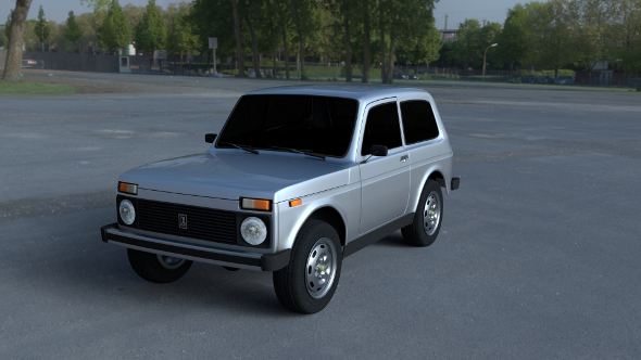 Lada Niva HDRI - 3DOcean Item for Sale