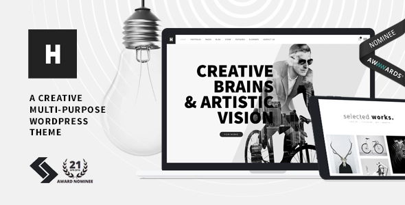 30 - Heli - Creative Multi-Purpose WordPress Theme