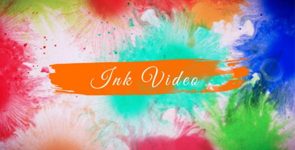 Color Ink Video - Tapahtumat Taustat Motion Graphics