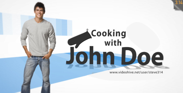 VideoHive Cooking Intro Tv Show 1599372
