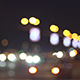 Car Lights Bokeh at Night
