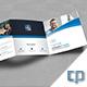 Corporate Squre Trifold Brochure Template