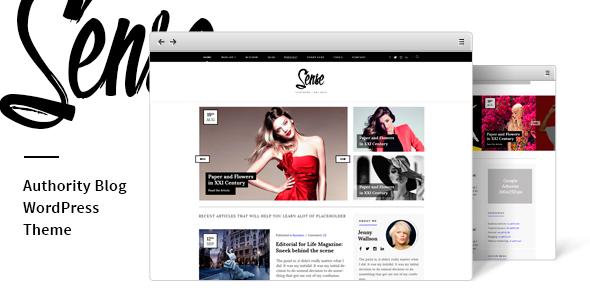 Sense - Authority Blog WordPress Theme