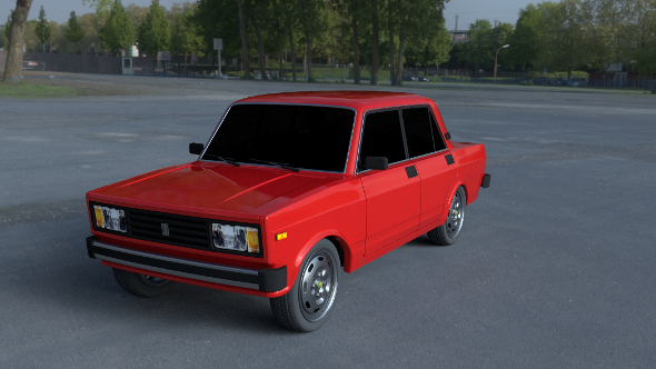 Lada Nova Riva HDRI - 3DOcean Item for Sale