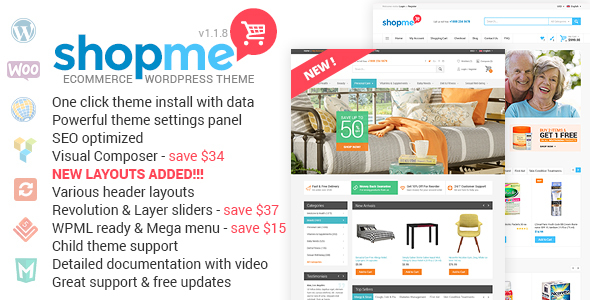 19 - ShopMe - Woocommerce WordPress Theme