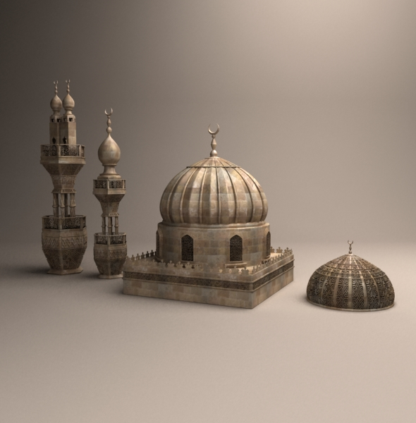 Mosque items - 3DOcean Item for Sale