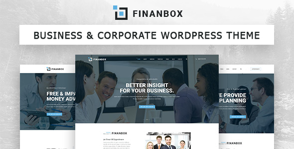 Download FINANBOX - Responsive Multipurpose Business & Corporate Business WordPress Theme nulled download