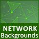 Unique &Futuristic network backgrounds