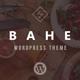 Bahe - Responsive One Page Portfolio Theme