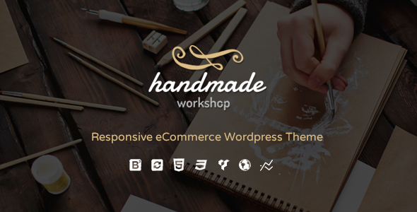 4 - Handmade - Shop WordPress WooCommerce Theme