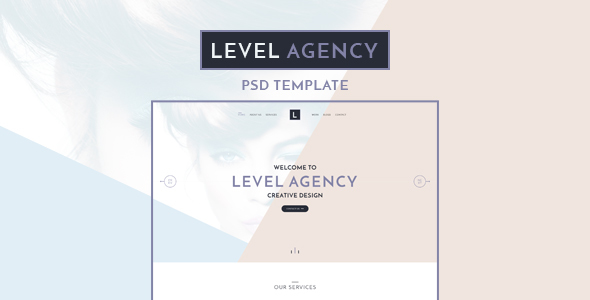 Level Agency - CREATIVE PSD TEMPLATE