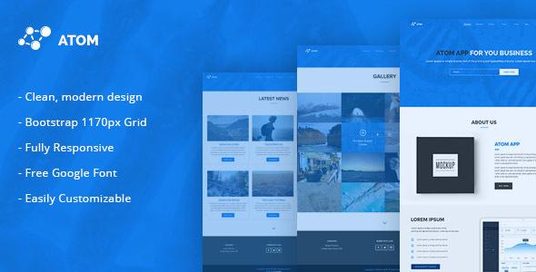 Atom - Multipurpose Responsive HTML5 Template