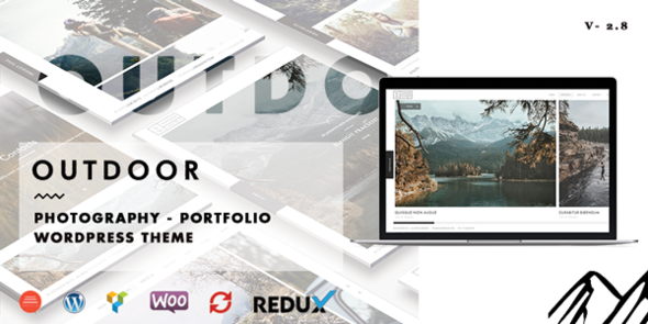 8 - Outdoor - Creative Photography/Portfolio WP Theme