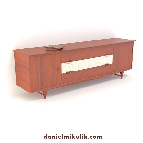Retro Cupboard #8 - 3DOcean Item for Sale