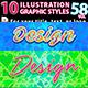 10 Illustrator Graphic Styles Vol.58