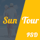 SunTour - Creative Travel Agency PSD Template