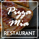 Pizza Mia - Pizza Composer PSD Template