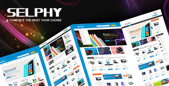 Image of Selphy - Mega Shop Responsive Opencart Theme