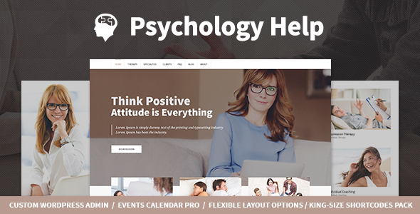 Download Psychology Help - Medical WordPress Theme for Psychologist and Mental Therapy