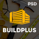 BuildPlus - Building & Construction Business PSD Template