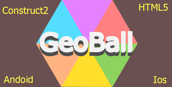 Geo Ball - HTML5 Mobile Game - CodeCanyon Item for Sale