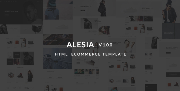 Alesia - Ecommerce HTML Responsive Template