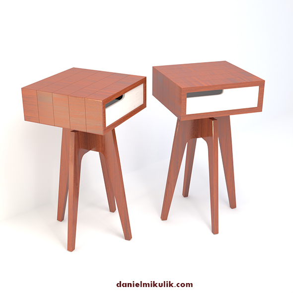 Retro Cupboard #10 - 3DOcean Item for Sale
