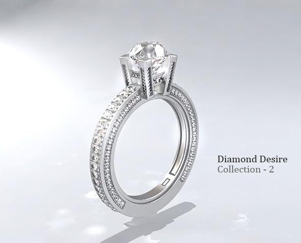3DOcean Diamond Ring 3 1601580