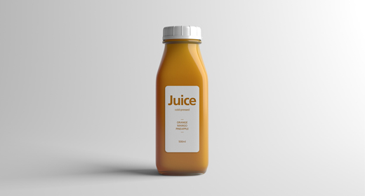 Juice Packaging Mock-Ups