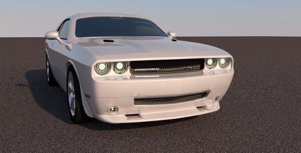 Dodge Challenger 2011 - 3DOcean Item for Sale