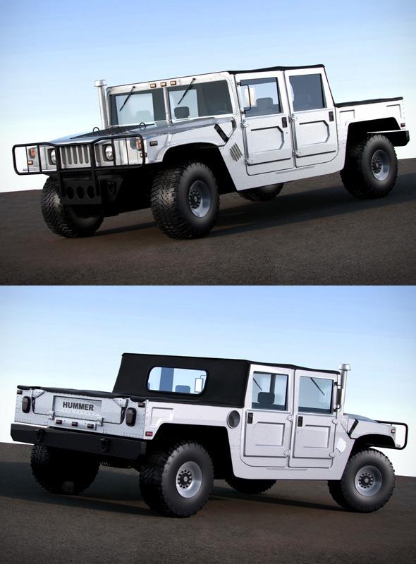 3DOcean Hummer H1 120526