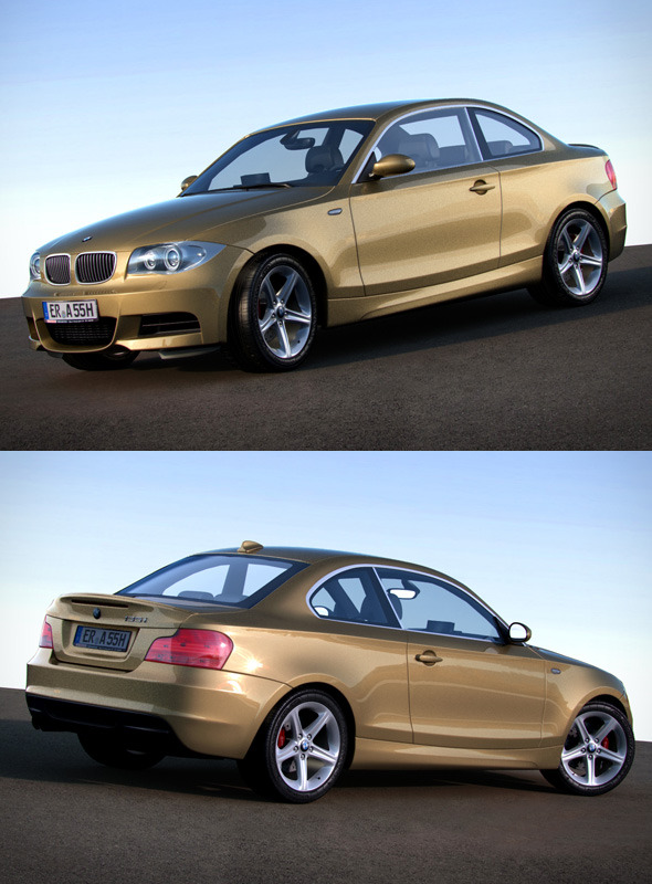 3DOcean BMW 1 Series e87 135i coupe 120847