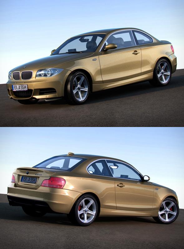 3DOcean BMW 1 Series e87 135i coupe 120847