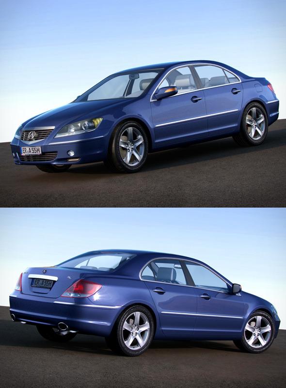 3DOcean Acura RL 2004-2008 ka964 405966