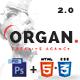Organ - The Multi-Purpose Responsive HTML5 Template