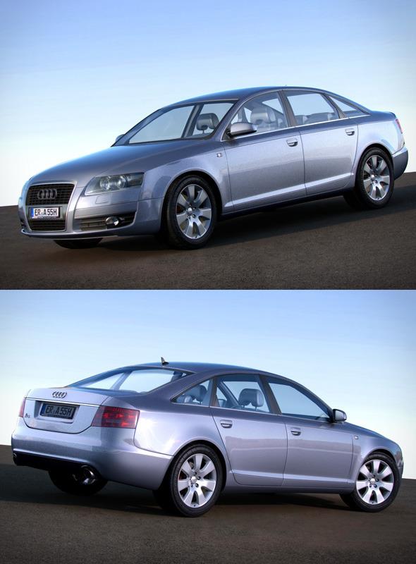 3DOcean Audi A6 C6 4F 406891