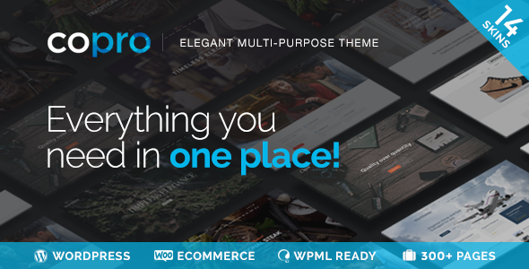 CoPro - Responsive Multipurpose WordPress Theme