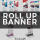 Abstract Roll Up Banner Bundle