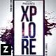 Xplore Party Flyer