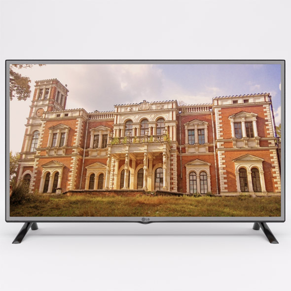LG LED TV 42 inch LF550 - 3DOcean Item for Sale